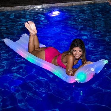 Illuminated Pillow Raft