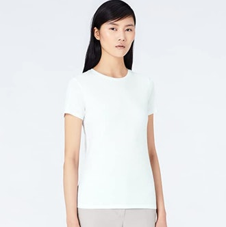 MERAKI Women's Standard Crew Neck T-Shirt (2-Pack)