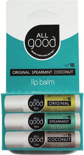 All Good SPF 15 Lip Balm (3-Pack)