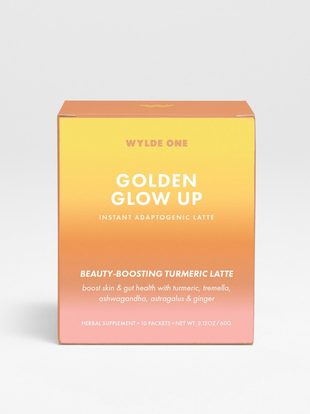 Golden Glow Up Instant Adaptogenic Latte