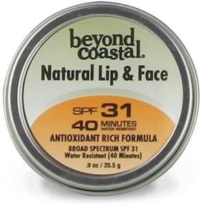 Beyond CoastalNatural Lip & Face Sunscreen