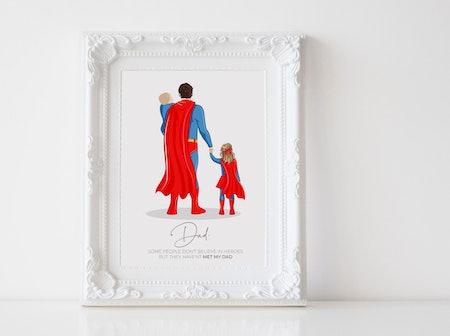 Superdad Drawing - Pretty Timely