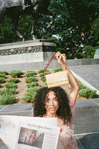 Ghana Shoulder Bag in Ackee