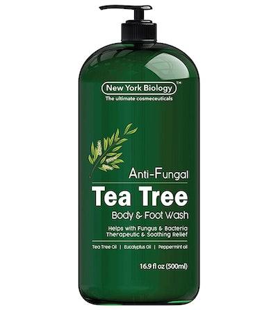New York Biology Antifungal Tea Tree Body Wash
