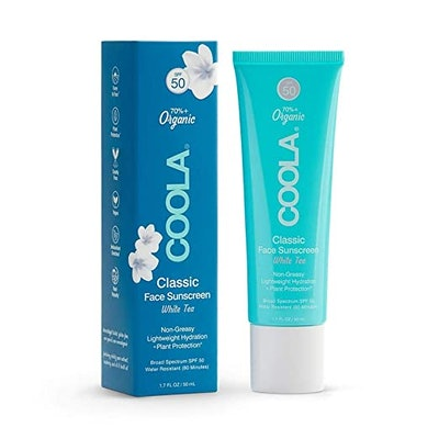 COOLA Organic Classic Daily Face Sunscreen, Broad Spectrum SPF 50