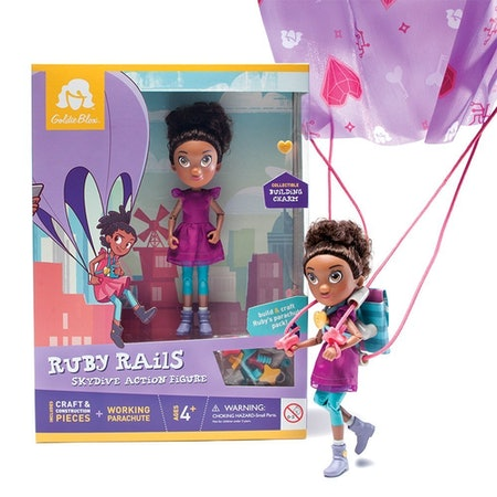 GoldieBlox Ruby Rails Action Figure