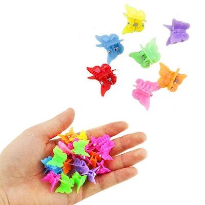 Bantoye Butterfly Hair Clips (100-Pack)
