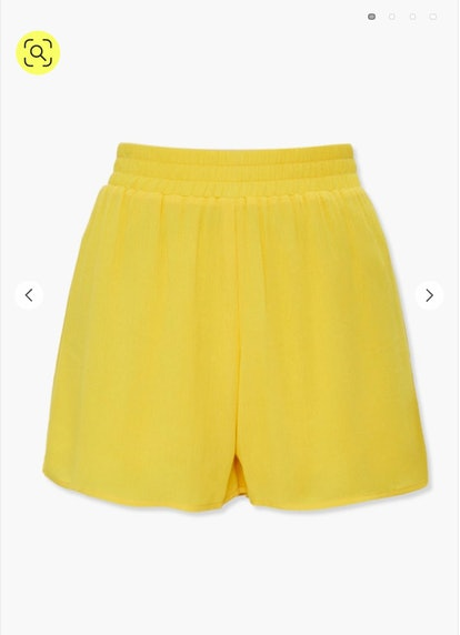 Forever 21 High-Rise Crepe Shorts