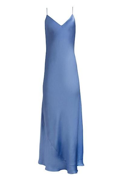 Dannijo Moonstone Blue Slip Dress