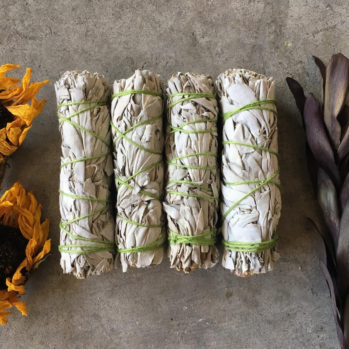 White Sage Incense Smudge Stick