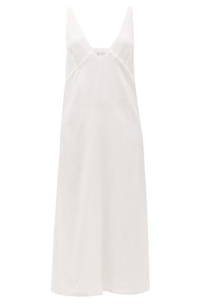 Raey Bust-Cup Silk Crepe de Chine Slip Dress