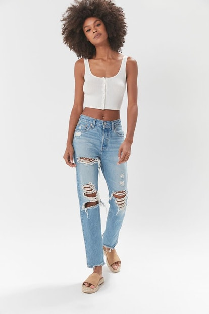 Urban Outfitters Levi's 501 Crop Jean – Luxor Street