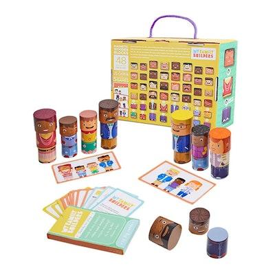 48- Piece Magnetic Wooden Set