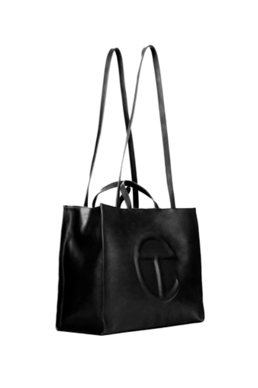 Large Black Shopping Bag