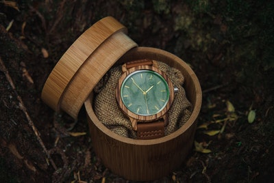 Personalized Wooden Watch - Wooden Studio Co.