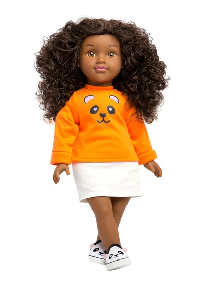 Natural Curly Hair Black Doll ZAIR - Positively Perfect™
