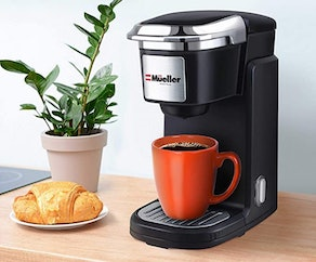 Mueller Pro Personal Coffee Brewer For Single Cup Pods