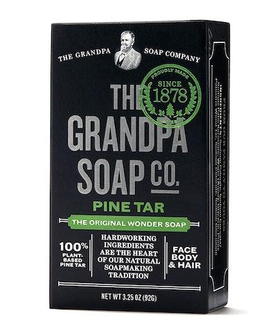 The Grandpa Soap Company Pine Tar Soap (Pack of 6)