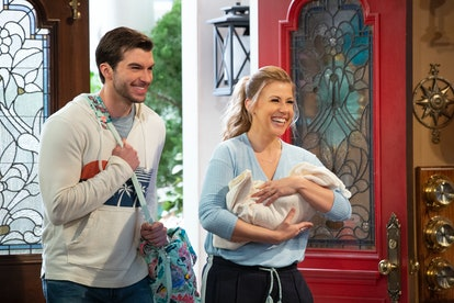 Jimmy and Stephanie on Fuller House via the Netflix press site