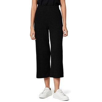 Meraki Women's Rib Cropped Pants