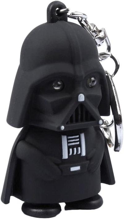 Star Wars Darth Vader Keychain with LED Flashlight & Sound