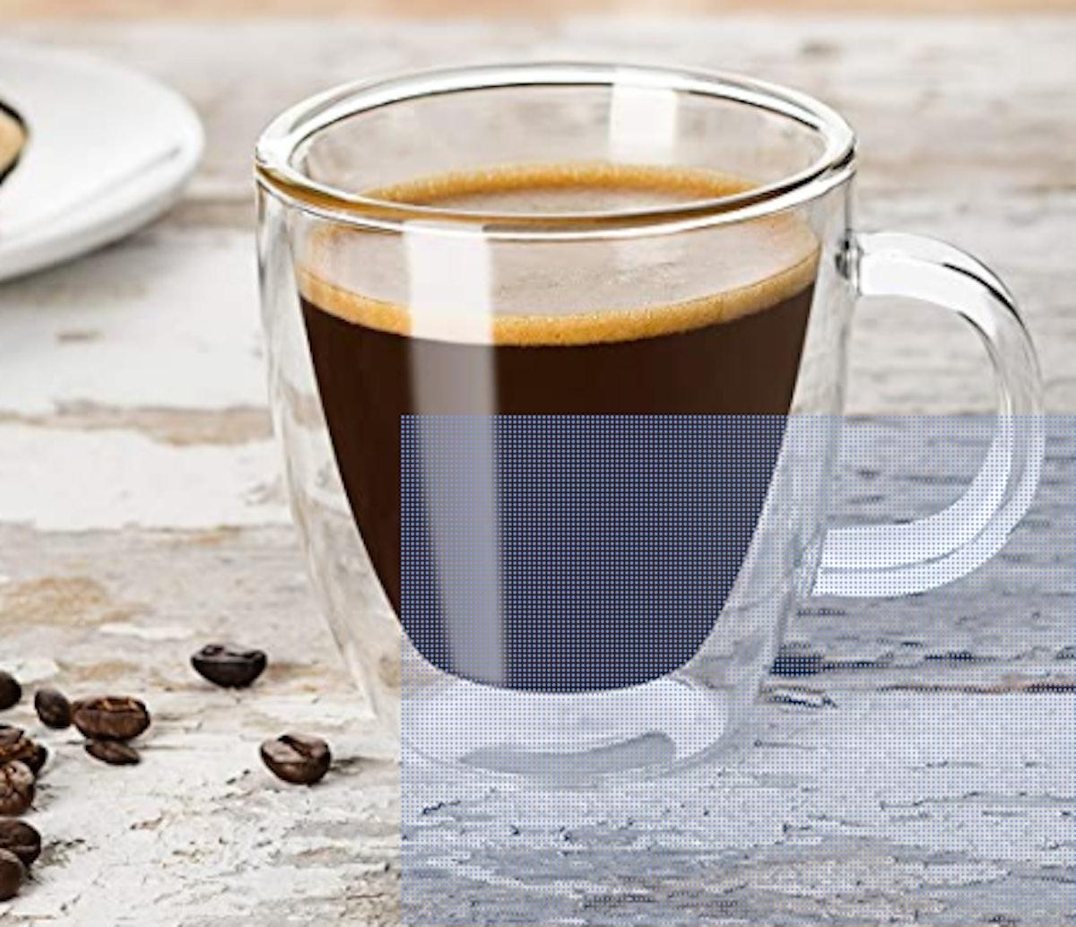 JoyJolt Double Wall Insulated Espresso Mug