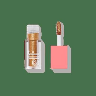 Retro Paradise Liquid Glitter Eyeshadow in 24K Gold