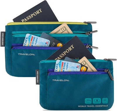 Travelon Currency and Passport Organizers