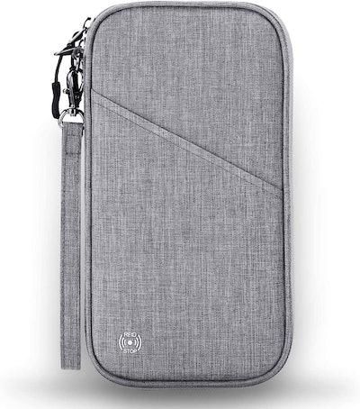 Vemingo Family Passport Holder With Accordion Design RFID