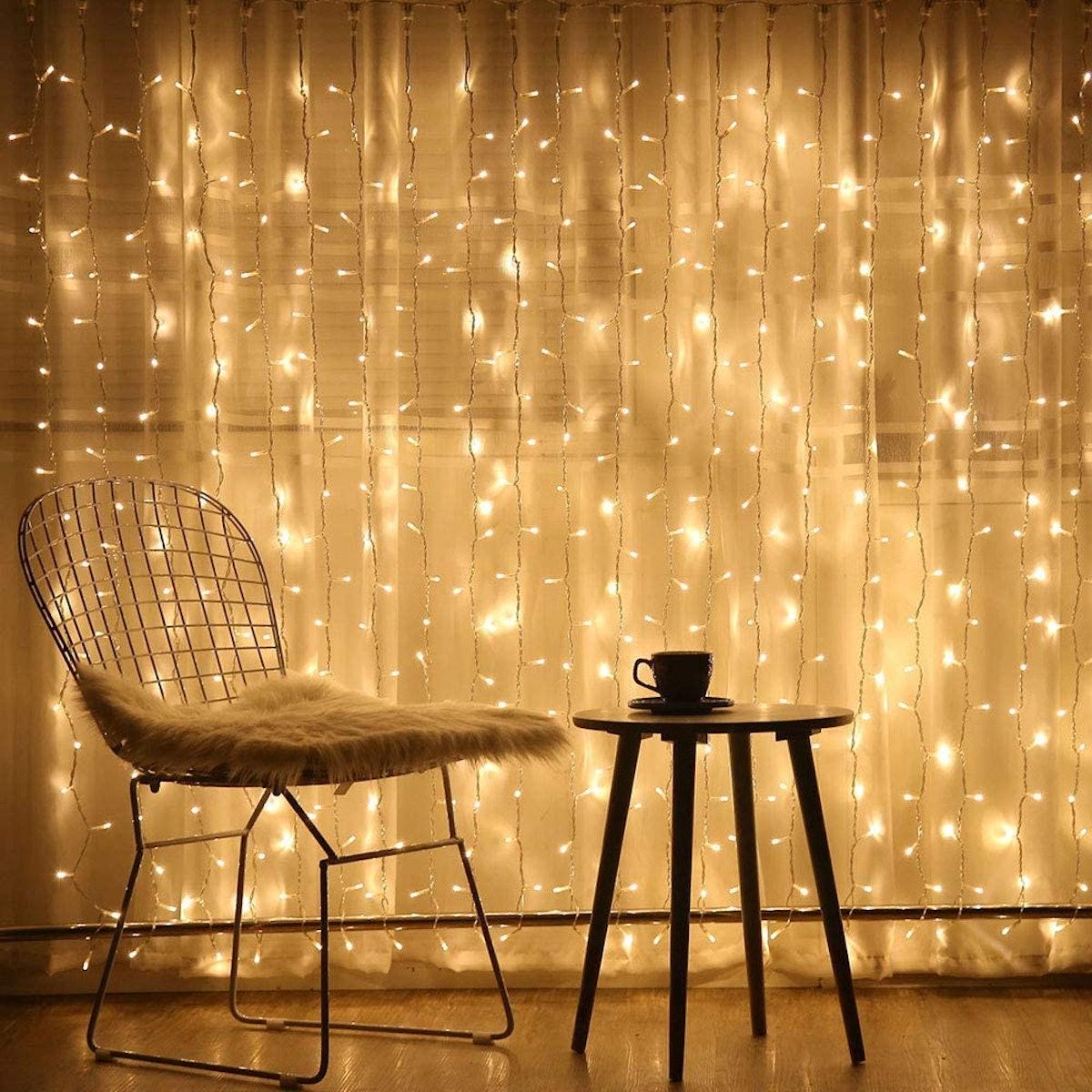 Brightown Hanging Window Curtain Lights (10 Feet)