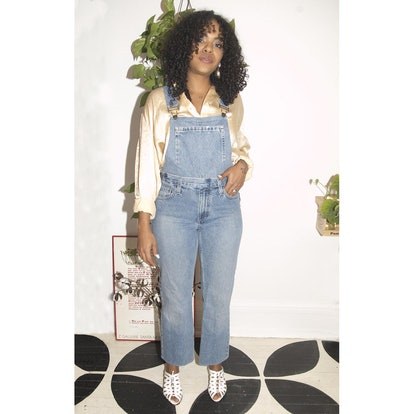 Sustainable Maria Upcycled Minimal Denim Overalls