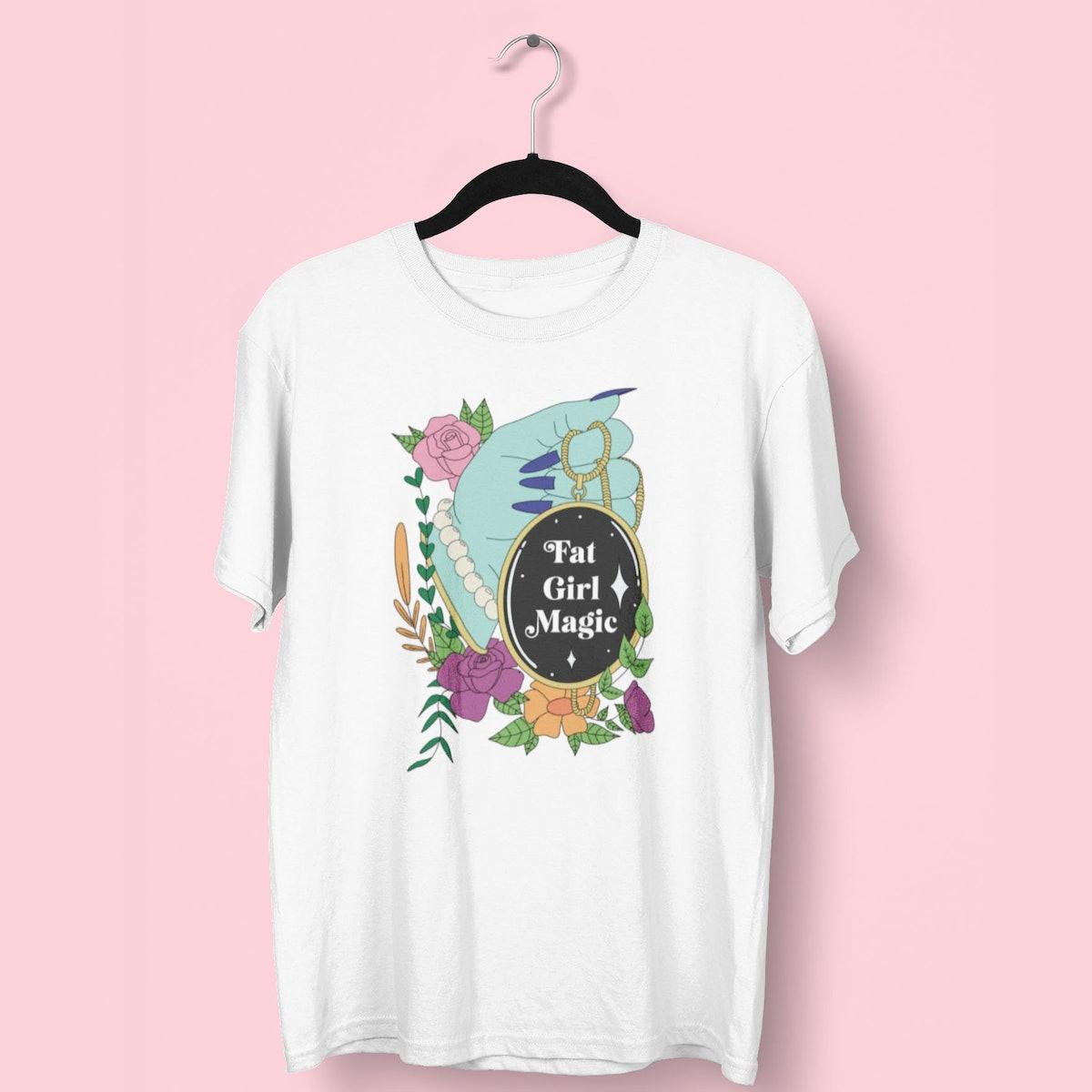 Fat Mermaids Fat Girl Magic T-Shirt