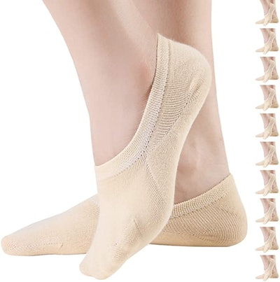 Areke No-Show Women's Socks (10-Pack)