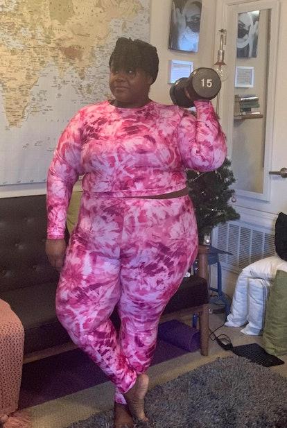 Courtney Noelle Pink Tie-Dye Set