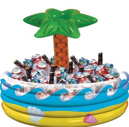 Inflatable Palm Tree Oasis Cooler