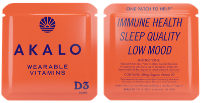Vitamin D3 Patches