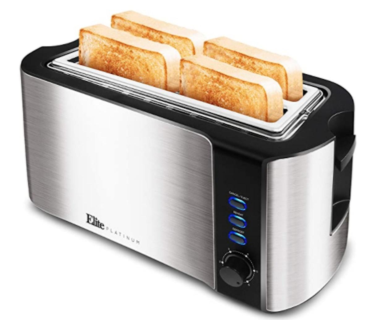 Maxi-Matic Elite Platinum Long Slot Toaster