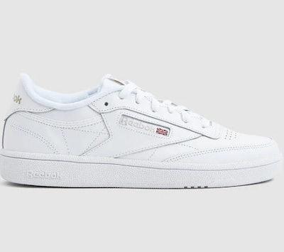 Club C 85 Sneaker in White/Light Grey