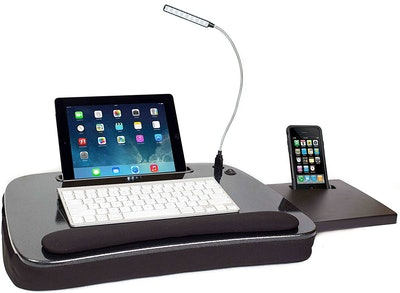 Sofia + Sam Memory Foam Lap Desk With USB Light