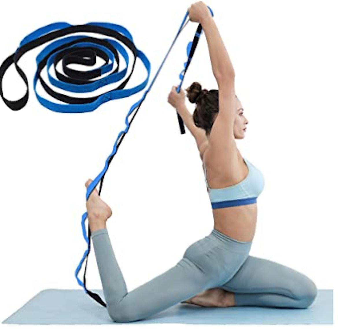 KerKoor Yoga Stretch Strap