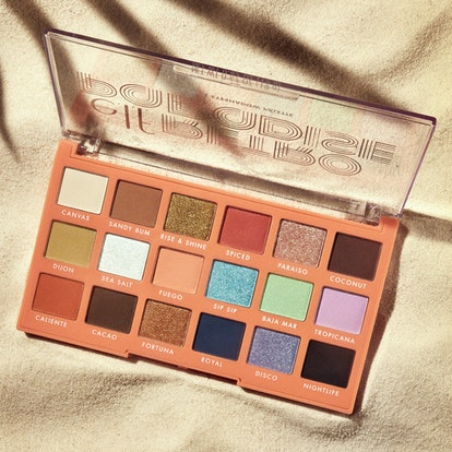 Eyeshadow palette from e.l.f. Cosmetics' new Retro Paradise Collection.