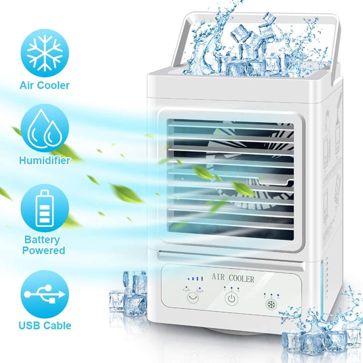 Juscool Portable Air Conditioner Fan
