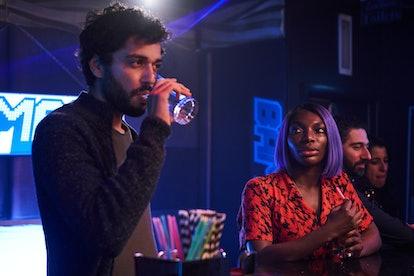 Marouane Zotti and Michaela Coel in 'I May Destroy You' on HBO via WARNER MEDIA PRESS SITE