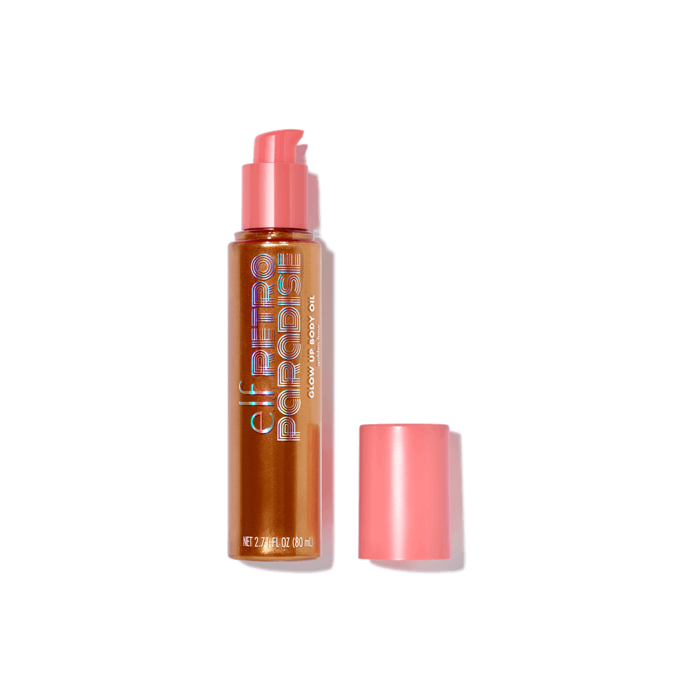 Retro Paradise Glow Up Body Oil in Golden Hour