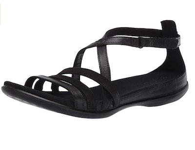 ECCO Summer Cross Strap Sandal