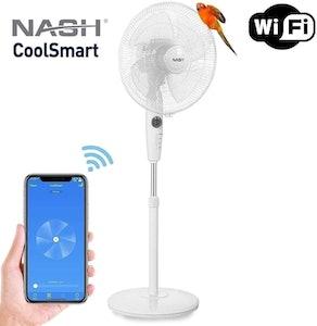 Nash Smart WiFi Oscillating Pedestal Fan