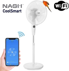 Nash Smart WiFi Oscillating Pedestal Fan