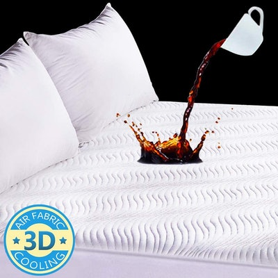 Safe and Sound Waterproof Cooling Mattress Protector