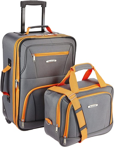 Rockland Fashion Softside Upright Luggage Set (14- And 20-Inches)