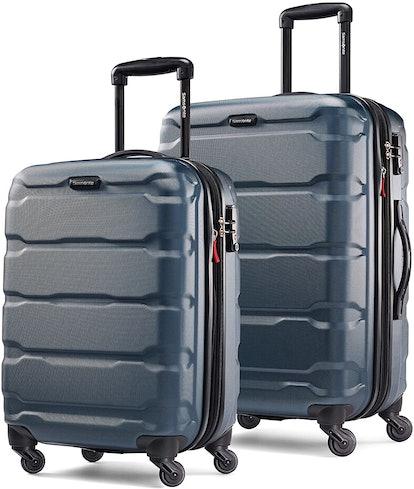 "Samsonite Omni Hardside Expandable 2-Piece Luggage Set 20"" & 24"" with Spinner Wheels"